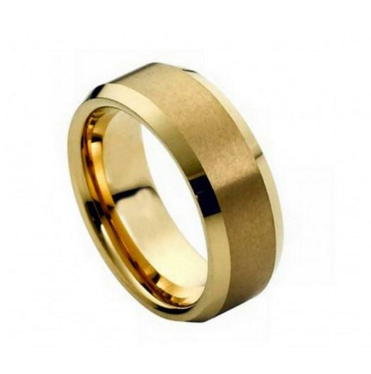 Yellow Cobalt Men's Ring CO426