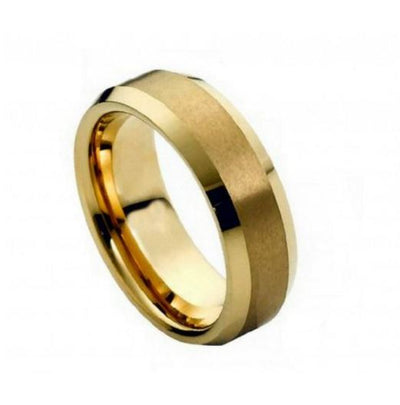 Yellow Cobalt Men's Ring CO428