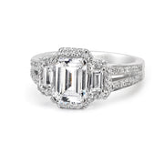 Parade Hemera Bridal Collection Engagement Ring R1431 Platinum