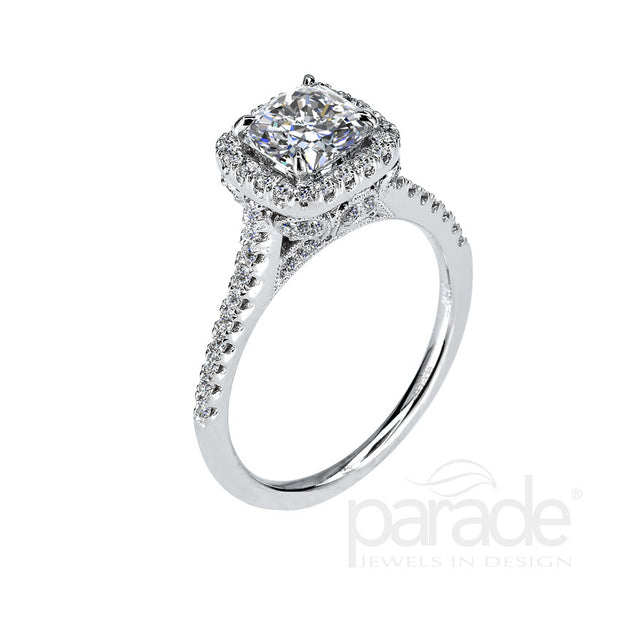 Parade Lyria Bridal Collection Engagement Ring R1866B Platinum