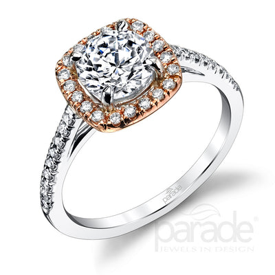 Parade Classic Collection Engagement Ring R1915C Platinum