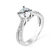 Parade Hemera Bridal Collection Engagement Ring R2202 Platinum