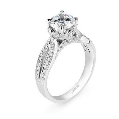 Parade Lyria Bridal Collection Engagement Ring R2211 Platinum