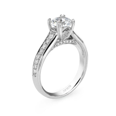 Parade Hemera-Bridal Collection Engagement Ring R2224 Platinum