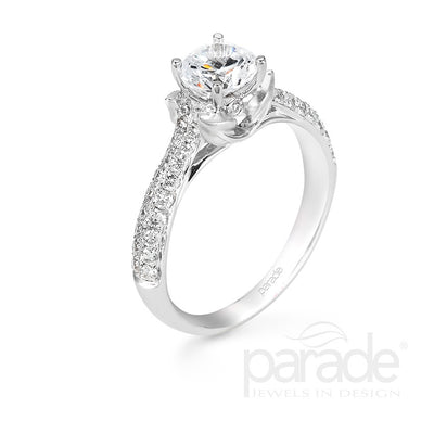 Parade Lyria Bridal Collection Engagement Ring R2477 Platinum