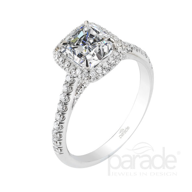 Parade Classic Collection Engagement Ring R2813 Platinum