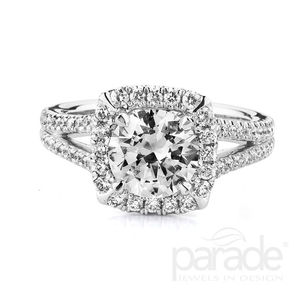 Parade Classic Collection Engagement Ring R2925 Platinum