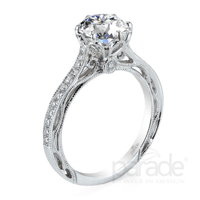 Parade Hera Bridal Collection Engagement Ring R2928 Platinum