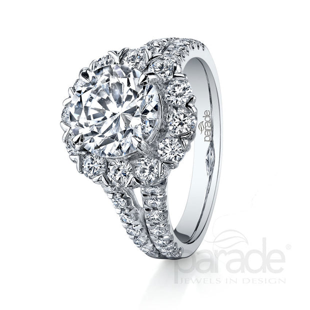 Parade Hemera Bridal Collection Engagement Ring R3003 Platinum