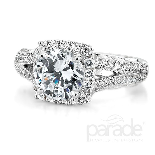 Parade Hemera Bridal Collection Engagement Ring R3026 Platinum