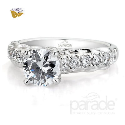 Parade Hemera Bridal Collection Engagement Ring R3027 Platinum