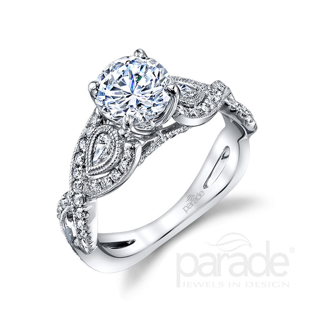 Parade Hemera Bridal Collection Engagement Ring R3680 Platinum