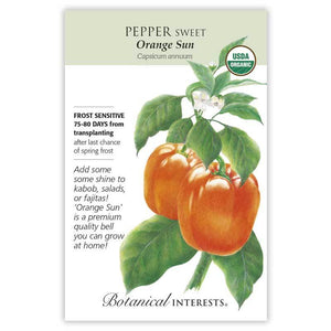 Pepper Sweet, Orange Sun (Bell Pepper)