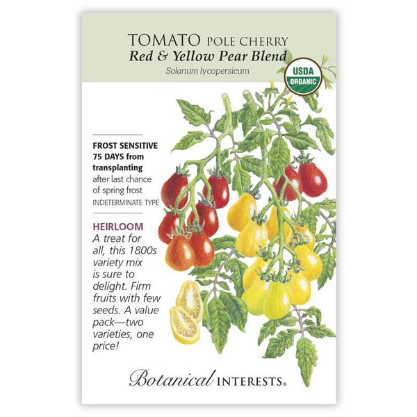 Tomato Cherry, Red & Yellow Pear Blend