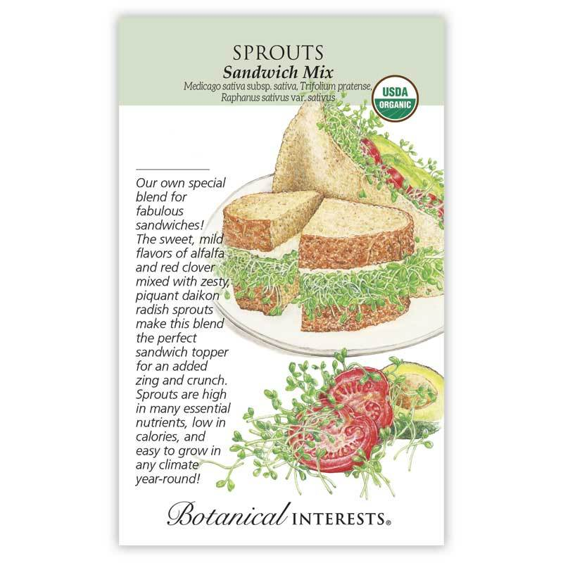 Sprouts, Sandwich Mix