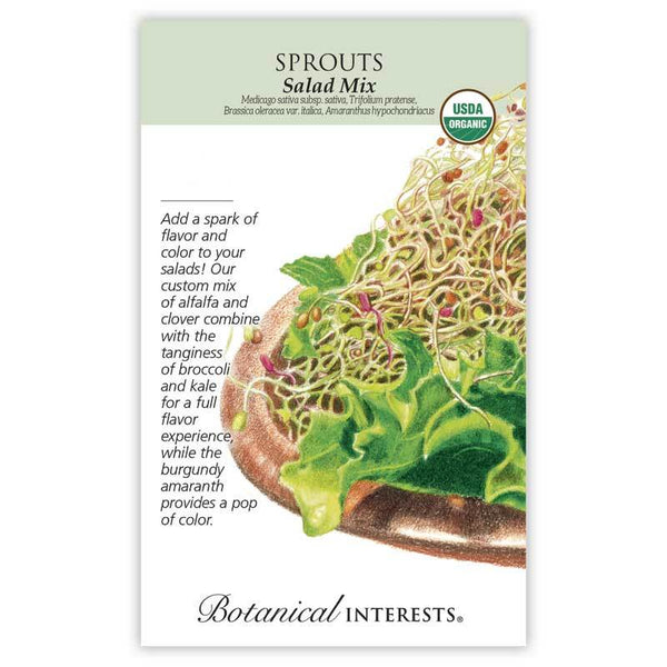 Sprouts, Salad Mix