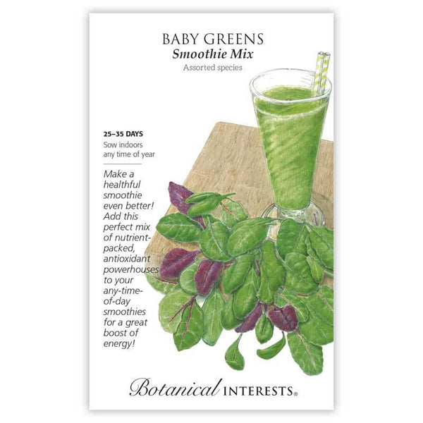 Baby Greens, Smoothie Mix