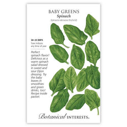 Baby Greens, Spinach