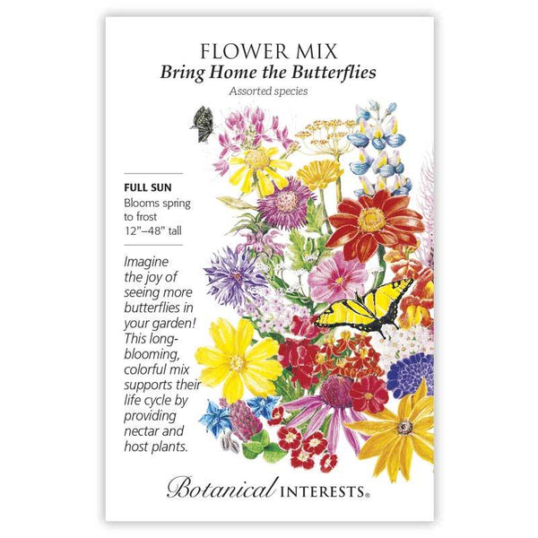 Flower Mix, Bring Home the Butterflies