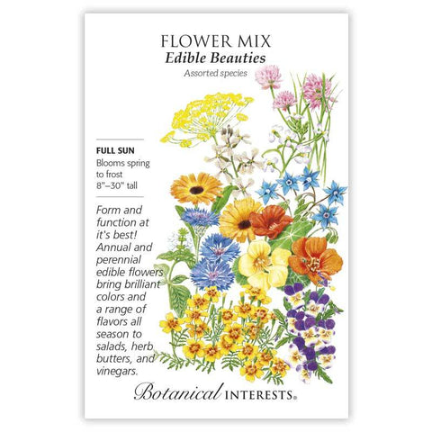 Flower Mix, Edible Beauties