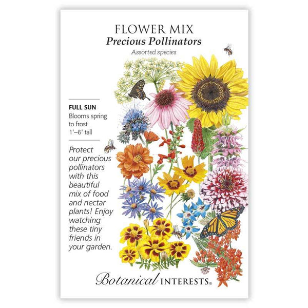 Flower Mix, Precious Pollinators