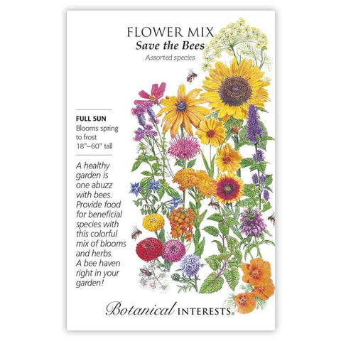 Flower Mix, Save the Bees