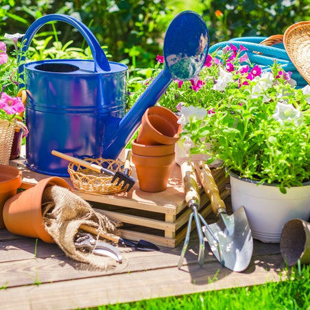 Garden supplies from the pampered gardener subscription box