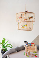 Load image into Gallery viewer, Double Birdcage Pendant Light Chandelier