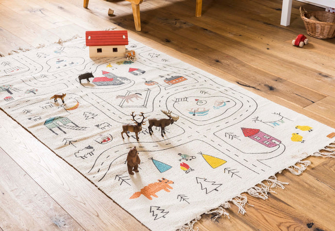 Little Explorer's Play Rug