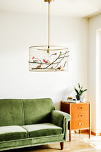Load image into Gallery viewer, Medium Copper Birdcage Pendant Light