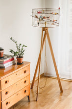 Load image into Gallery viewer, Birdcage Tripod Floor Lamp