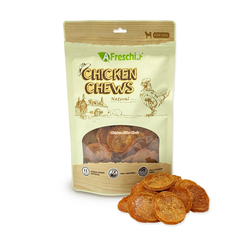 Afreschi Chicken Chews Treats for Dogs