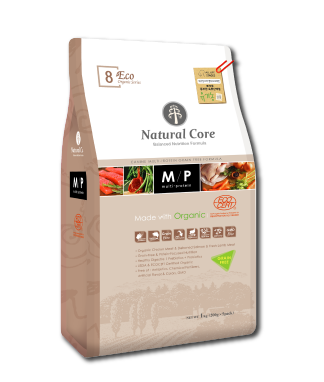 Natural Core ECO8 Organic Multi-Protein Grain Free Formula Dry Dog Food (1kg/5.2kg)