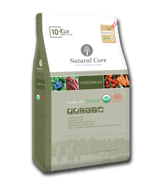 Natural Core ECO10 Organic Vegetarian Formula Dry Dog Food (1kg/6kg)