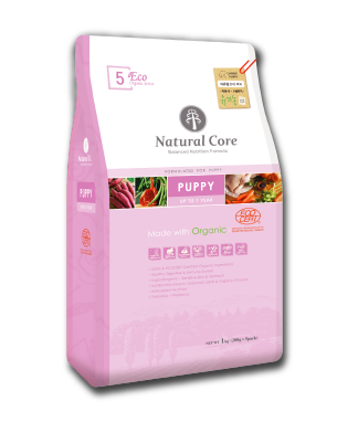 Natural Core ECO5 Organic Puppy Formula Dry Dog Food (1kg/7kg)