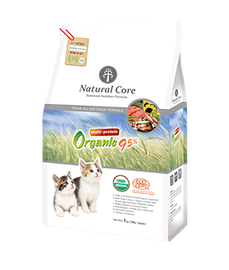 Natural Core Multi-Protein Organic 95% Formula Dry Cat Food (1kg/5.6kg)