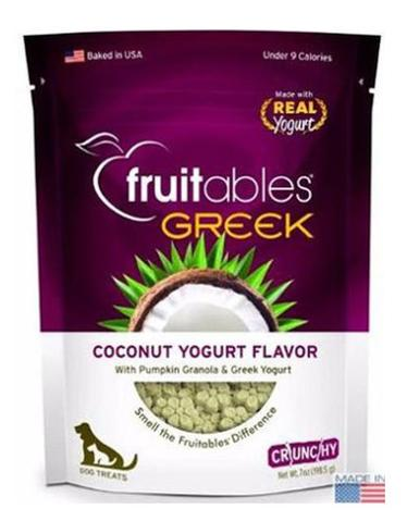 Fruitables Crunchy Greek Coconut Yogurt Dog Treats