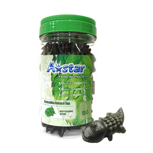 A Star Animal Fun Dental Treat Crocodile 290g small capsule