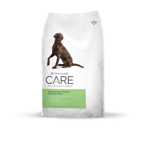 DIAMOND CARE Sensitive Skin Formula for Adult Dogs (8lbs/25lbs)