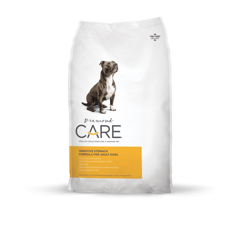 DIAMOND CARE Sensitive Stomach Formula for Adult Dogs (8lbs/25lbs)