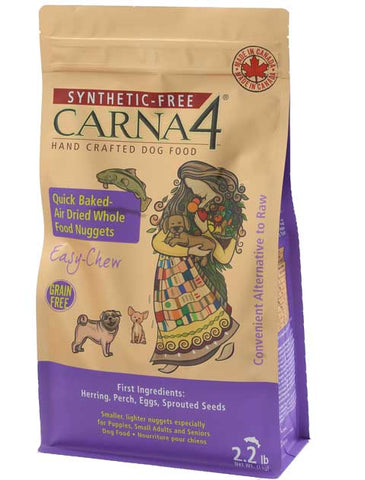 Carna4 Quick-Baked Air Dried Fish Grain Free Nuggets for Dogs (2.2lbs/1kg)