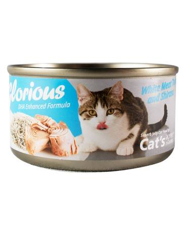 Cat's Agree White Meat Tuna & Shirasu Canned Wet Food (80g)