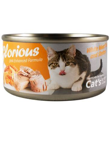 Cat's Agree White Meat Tuna & Shrimp Canned Wet Food (80g)