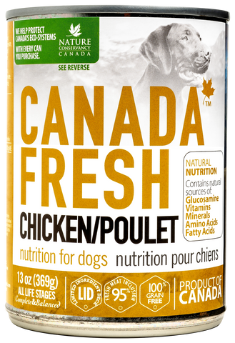 Canada Fresh Chicken Dog Wet Food 13oz/369g