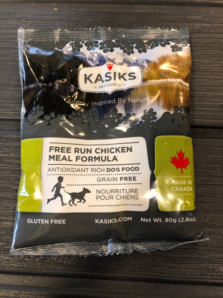 Sample - Kasiks Grain, Gluten & Potato Free, Free Run Chicken Formula for Dogs