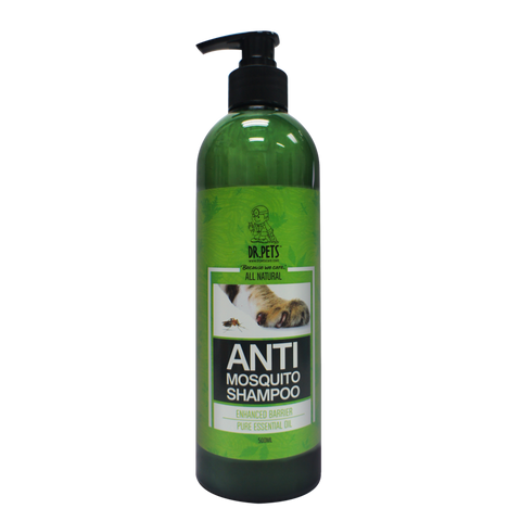 Dr Pets Natural Neem Anti-Mosquito Shampoo (500ml)