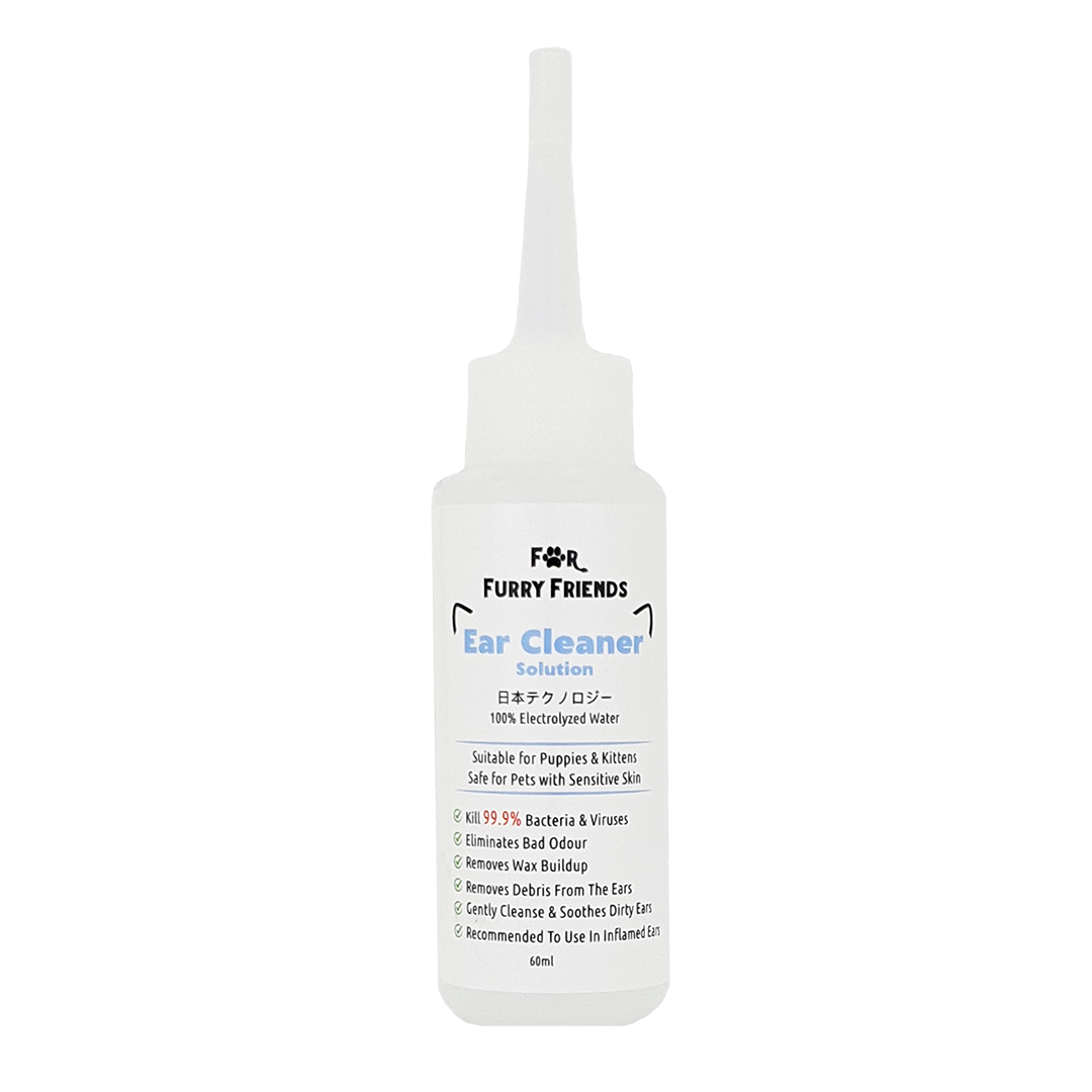 For Furry Friends Ear Cleaner Solution (60ml)