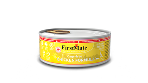 FirstMate Grain & Gluten Free, Free Run Chicken Formula for Cats (156g)