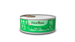 FirstMate Grain & Gluten Free, Free Run Turkey Formula for Cats (156g)