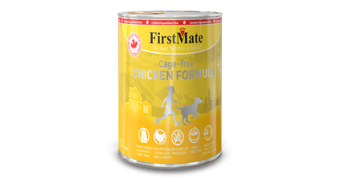 FirstMate Grain & Gluten Free, Free Run Chicken Formula for Dogs (345g)